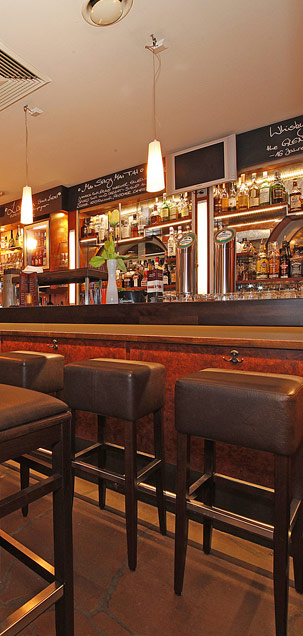 die Bar der WaTT's Brasserie und Bar in Ettlingen