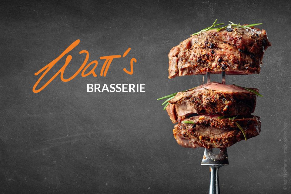 Roastbeef to go während Corona-Zeiten von der WaTT's Brasserie und Restaurant in Ettlingen