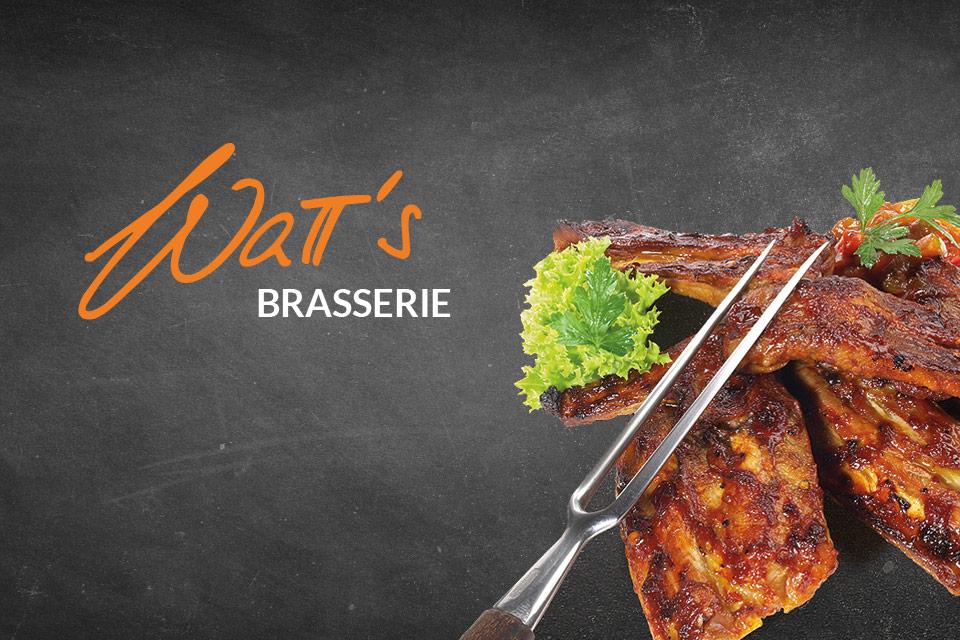 BBQ Spareribs to go während Corona-Zeiten von der WaTT's Brasserie und Restaurant in Ettlingen