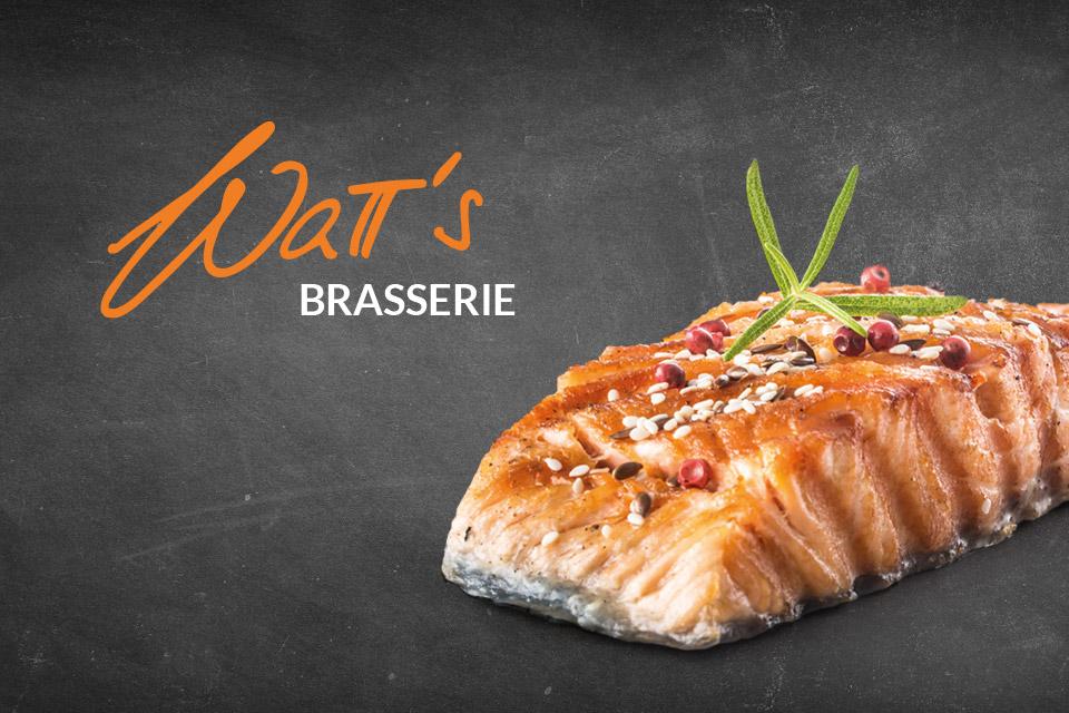 Lachs oder Lammschulter to go während Corona-Zeiten von der WaTT's Brasserie und Restaurant in Ettlingen